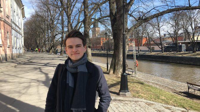 Åbos yngsta politiker