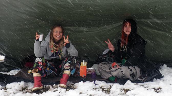 Bilder: WasaWappen firades i snöyra