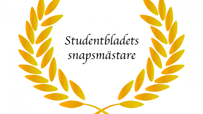 Studentbladets magnifika snapsvisetävling