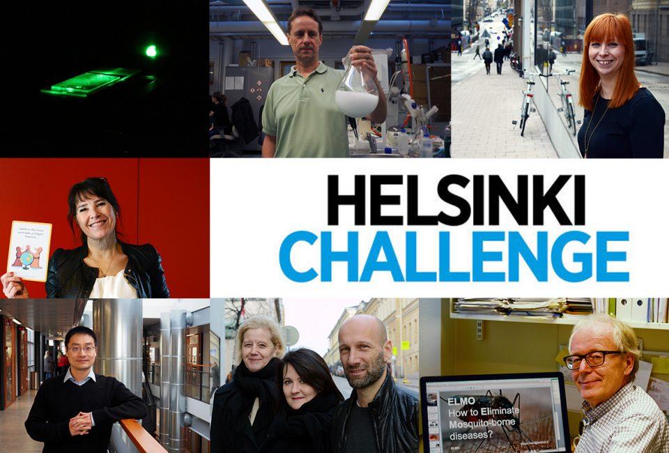Helsinki Challenge finalisterna. Studentbladet har intervjuat alla.