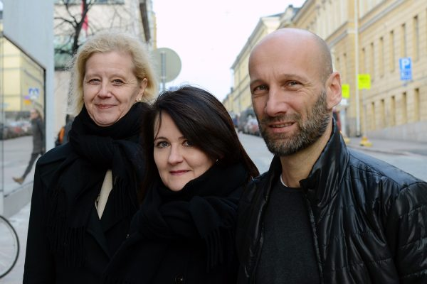 Veli-Matti Harjula, Auli Toom och Katariina Salmela-Aro.