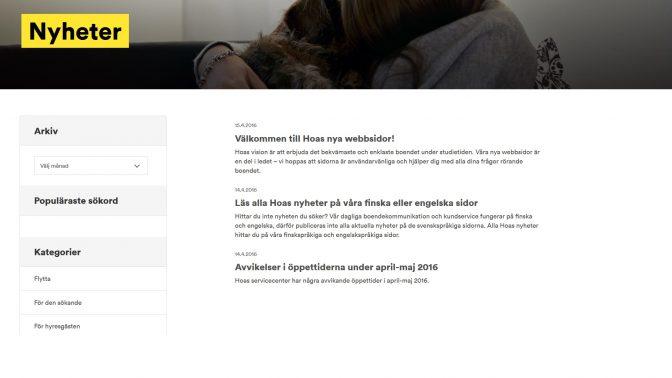 Uppföljning: Bostadsstiftelsen Hoas höll inte sitt löfte och svenskspråkig service uteblev